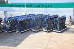 5 кабельных подвесок весом 8 тонн