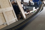 Поставка кабелеукладочных цепей в полном комплекте с кабелем, лотками, системой крепления