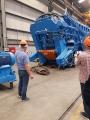 Современные машины для переработки металлолома - пресс-ножницы